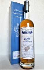 MACKMYRA 2008 PORT WINE BARREL FINISH 50,4% VOL DOUBLE MATURED SELECTION ALAMBIC CLASSIQUE