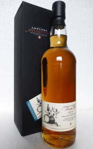 BREATH OF THE ISLES 2007 REFILL SHERRY CASK  58,5% VOL ADELPHI