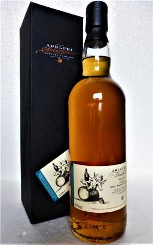 BREATH OF THE ISLES 2007 REFILL SHERRY CASK 58,7% VOL ADELPHI