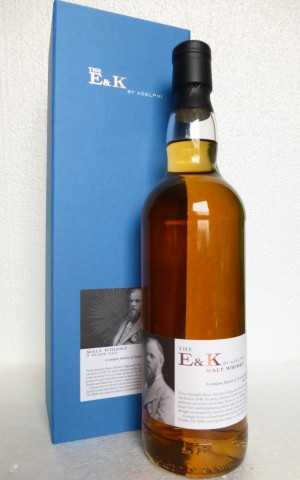THE E&K A FUSION OF SCOTCH & INDIAN MALT WHISKIES 57,8% VOL ADELPHI