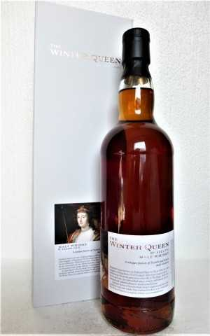 THE WINTER QUEEN A FUSION OF SCOTCH & DUTCH MALT WHISKIES 52,7% VOL ADELPHI