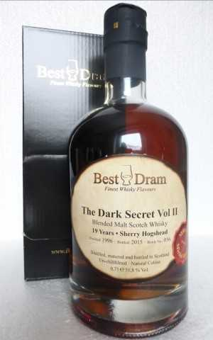 THE DARK SECRET VOL. II 1996 SHERRY HOGSHEAD 51,8% VOL BEST DRAM