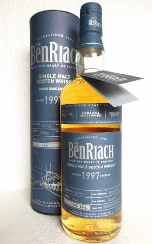 BENRIACH 1997 BOURBON BARREL 49,5% VOL EXCLUSIVE FOR GERMANY