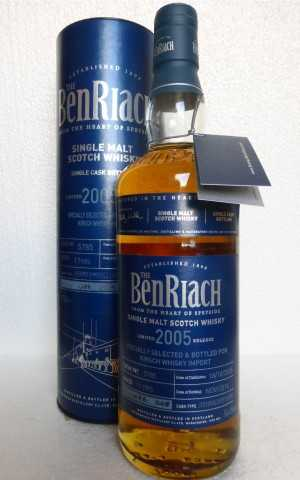 BENRIACH 2005  PEDRO XIMENEZ SHERRY PUNCHEON 54,4% VOL EXCLUSIVE FOR GERMANY