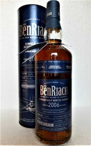 BENRIACH 2006 PEDRO XIMENEZ SHERRY PUNCHEON 61,8% VOL EXCLUSIVE FOR GERMANY