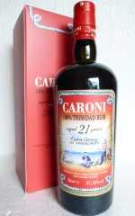 CARONI 1996 TRINIDAD RUM 21 JAHRE EXTRA STRONG 57,18% VOL VELIER