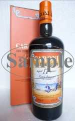 CARONI 1998 TRINIDAD RUM 17 JAHRE EXTRA STRONG 110 PROOF 55% VOL VELIER SAMPLE