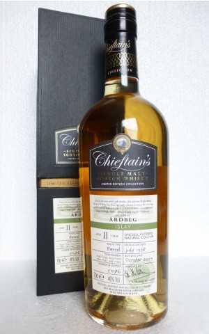 ARDBEG 1998 NATURAL HOGSHEAD 46% VOL CHIEFTAIN´S CHOICE