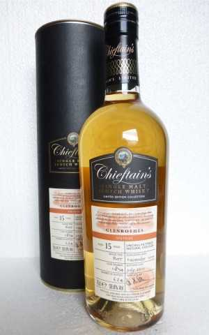 GLENROTHES 1999 SHERRY BUTT 58,6% VOL CHIEFTAIN'S CHOICE