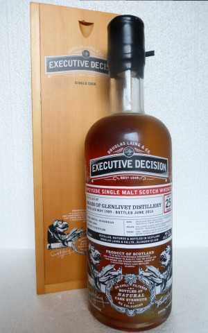 BRAES OF GLENLIVET 1989 REFILL HOGSHEAD 60,3% VOL DOUGLAS LAING EXECUTIVE DECISION