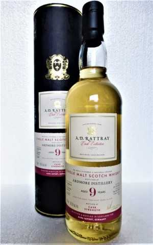 ARDMORE 2010 BOURBON BARREL 56,5% VOL A. D. RATTRAY EXCLUSIVE FOR GERMANY
