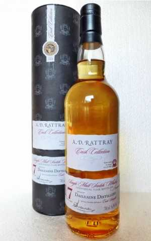 DAILUAINE 1996 BOURBON HOGSHEAD 56,9% VOL  A. D. RATTRAY