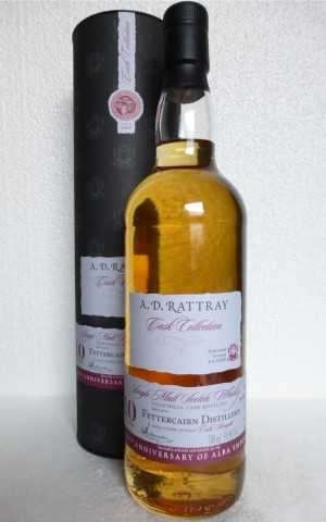 FETTERCAIRN 2006 BOURBON BARREL 59,8% VOL 10TH ANNIVERSARY OF ALBA IMPORT A. D. RATTRAY