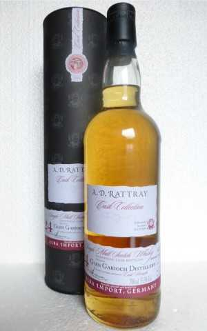 GLEN GARIOCH 1990 BOURBON HOGSHEAD 55,5% VOL A. D. RATTRAY EXCLUSIVE FOR GERMANY