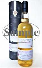 GLENDULLAN 2000 SHERRY CASK FINISHED 54,6% VOL A. D. RATTRAY SAMPLE