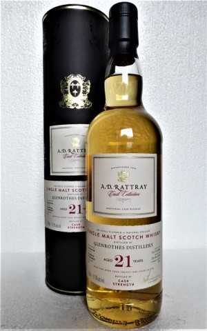 GLENROTHES 1996 BOURBON HOGSHEAD 51,9% VOL A. D. RATTRAY