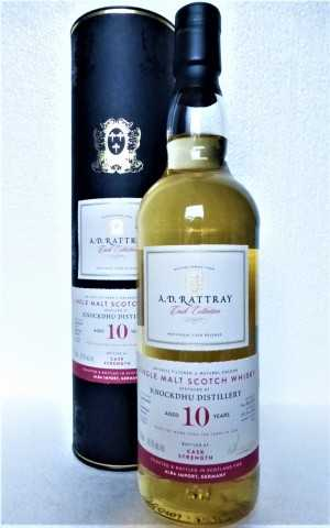 KNOCKDHU 2009 BOURBON BARREL 56,3% VOL A. D. RATTRAY EXCLUSIVE FOR GERMANY