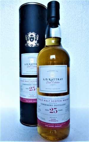 TOBERMORY 1994 BOURBON HOGSHEAD 57,3% VOL A. D. RATTRAY EXCLUSIVE FOR GERMANY