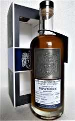 BOWMORE 1998 DAVID STIRK EXCLUSIVE MALTS  REFILL BUTT 53,2% VOL THE CREATIVE WHISKY COMPANY