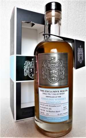 ST. GEORGE'S 2010 DAVID STIRK EXCLUSIVE MALTS EX-BOURBON BARREL 57,2% VOL THE CREATIVE WHISKY COMPANY