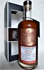 GIRVAN 1994 DAVID STIRK EXCLUSIVE GRAINS SHERRY HOGSHEAD 53,8% VOL THE CREATIVE WHISKY COMPANY