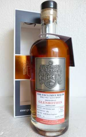 GLENROTHES 1996 20 JAHRE  DAVID STIRK EXCLUSIVE MALTS  REFILL SHERRY HOGSHEAD 54,5% VOL THE CREATIVE WHISKY COMPANY