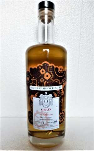 SINGLE GRAIN SCOTCH WHISKY DAVID STIRK SINGLE CASK EXCLUSIVES 10 JAHRE 50% VOL THE CREATIVE WHISKY COMPANY