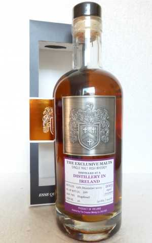 A DISTILLERY IN IRELAND 2003 DAVID STIRK EXCLUSIVE MALTS SHERRY HOGSHEAD 52,6% VOL THE CREATIVE WHISKY COMPANY