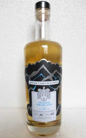 PEATED HIGHLAND DAVID STIRK SINGLE CASK EXCLUSIVES 8 JAHRE 50% VOL THE CREATIVE WHISKY COMPANY