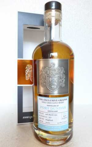 PORT DUNDAS 1991 DAVID STIRK EXCLUSIVE GRAINS 55,6% VOL THE CREATIVE WHISKY COMPANY