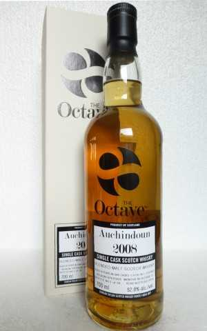 AUCHINDOUN (KININVIE) 2008 THE OCTAVE SHERRY OCTAVE CASK 52,8% VOL DUNCAN TAYLOR