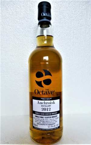 AUCHROISK 2012 THE OCTAVE EXCLUSIVE FOR GERMANY SHERRY OCTAVE CASK 52,5% VOL DUNCAN TAYLOR
