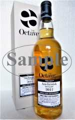 AUCHROISK 2012 THE OCTAVE EXCLUSIVE FOR GERMANY SHERRY OCTAVE CASK 52,5% VOL DUNCAN TAYLOR SAMPLE