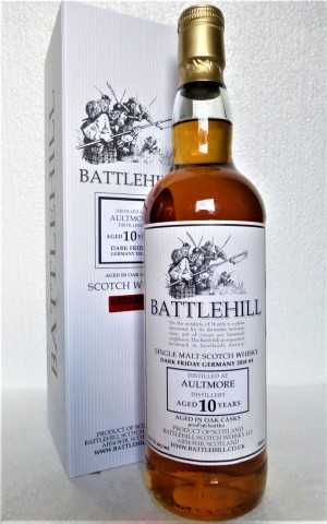 AULTMORE 10 JAHRE SHERRY CASK 53,7% VOL DARK FRIDAY GERMANY 2018 DUNCAN TAYLOR BATTLEHILL
