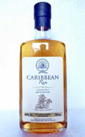 CARIBBEAN RUM AUTHENTIC BLEND BARBADOS/FOURSQUARE 46% VOL DUNCAN TAYLOR