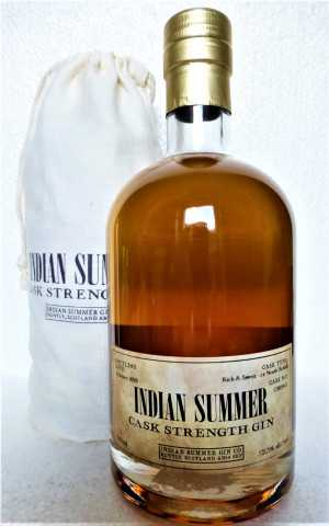 INDIAN SUMMER CASK STRENGTH GIN EX-NORTH BRITISH CASK 52,3% VOL DUNCAN TAYLOR