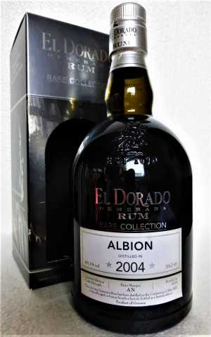 EL DORADO DEMERARA RUM 2004 RARE COLLECTION ALBION 60,1% VOL ORIGINALABFÜLLUNG