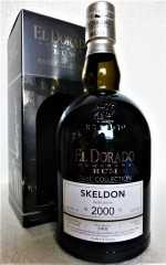 EL DORADO DEMERARA RUM 2000 RARE COLLECTION SKELDON 58,3% VOL ORIGINALABFÜLLUNG