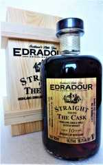 EDRADOUR 2009 SFTC STRAIGHT FROM THE CASK DARK SHERRY BUTT 56,3% VOL ORIGINALABFÜLLUNG