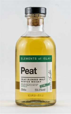 ELEMENTS OF ISLAY PEAT FULL PROOF 59,3% VOL SPECIALITY DRINKS LTD.