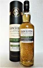 GLEN SCOTIA 2001 SINGLE CASK REFILL AMERICAN OAK HOGSHEAD UNPEATED 58,5% VOL ORIGINALABFÜLLUNG