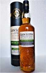 GLEN SCOTIA 2007 SINGLE CASK BORDEAUX RED WINE HOGSHEAD MEDIUM PEATED 57,2% VOL ORIGINALABFÜLLUNG