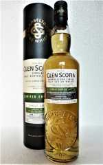 GLEN SCOTIA 2009 SINGLE CASK FIRST FILL BOURBON CASK  MEDIUM PEATED 56,1% VOL ORIGINALABFÜLLUNG