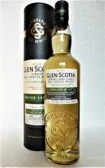 GLEN SCOTIA 2009 SINGLE CASK FIRST FILL BOURBON CASK UNPEATED 56,4% VOL ORIGINALABFÜLLUNG