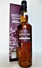 GLEN SCOTIA 14 JAHRE PEATED FIRST FILL TAWNY PORT FINISH 52,8% VOL CAMPBELTOWN MALTS FESTIVAL 2020
