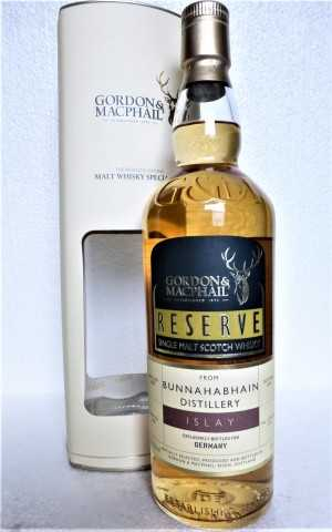 BUNNAHABHAIN 2008 EXCLUSIVE FOR GERMANY REFILL AMERICAN HOGSHEAD 58,1% VOL GORDON & MACPHAIL RESERVE