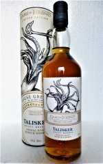 TALISKER SELECT RESERVE HOUSE GREYJOY 45,8% VOL GAME OF THRONES
