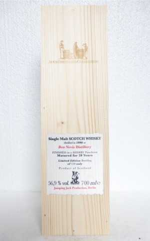 BEN NEVIS 1996 SHERRY CASK FINISH 56,9% VOL AULD DISTILLERS COLLECTION JACK WIEBERS WHISKY WORLD