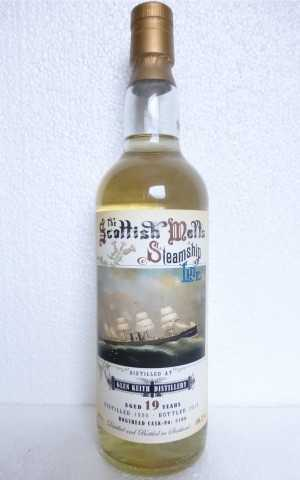 GLEN KEITH 1996 HOGSHEAD 56,2% VOL THE SCOTTISH MALT´S STEAMSHIP LINE JACK WIEBERS