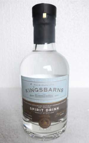 "KINGSBARNS ""SPIRIT DRINK"" NEW MAKE SPIRIT 63,5% VOL ORIGINALABFÜLLUNG"